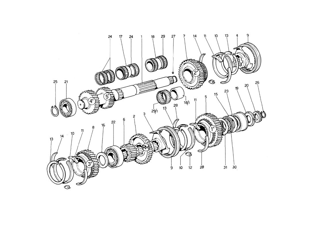 LAY SHAFT GEARING