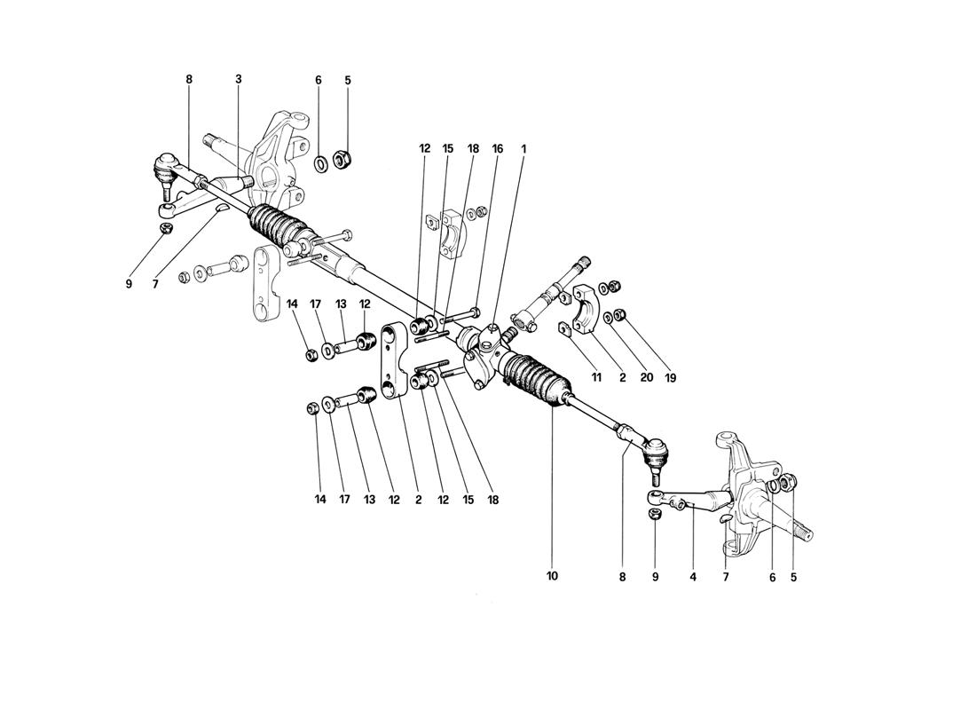 STEERING BOX AND LINKAGE