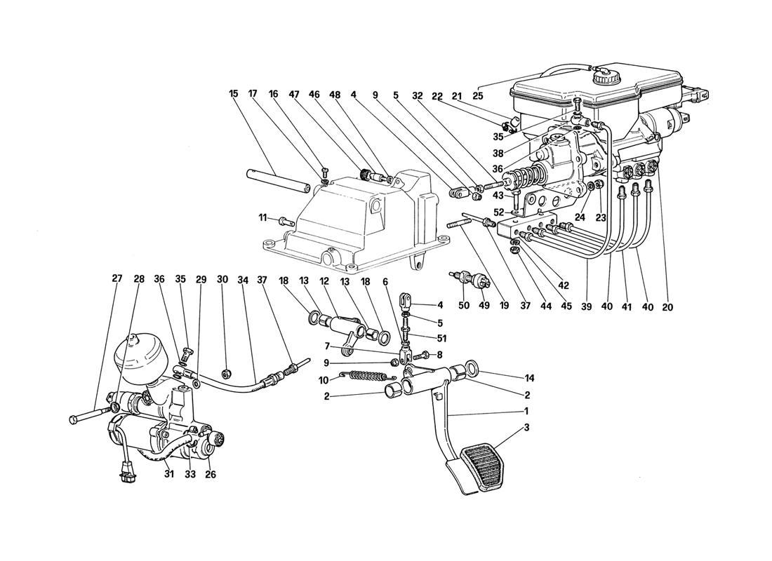 CLUTCH HYDRAULIC SYSTEM (FOR CAR WITH ANTISKID SYSTEM)