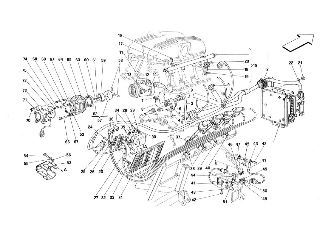 AIR INJECTION - IGNITION - MOTRONIC 2.5
