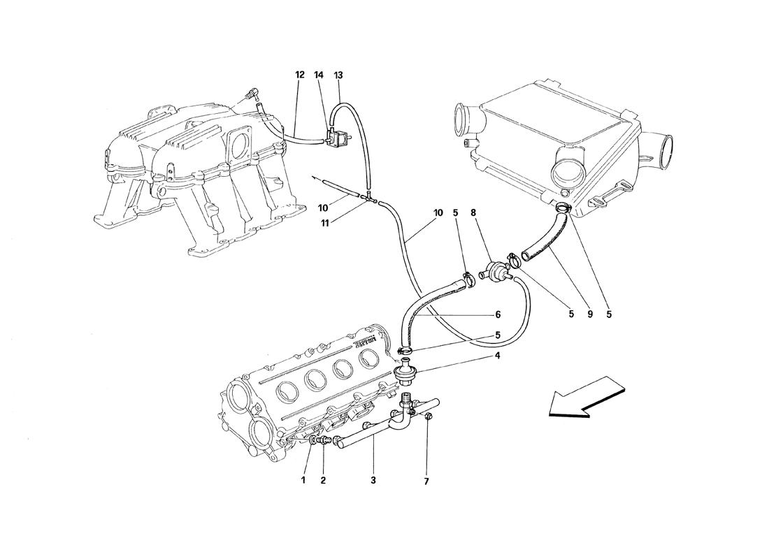 AIR INJECTION DEVICE - MOTRONIC 2.5