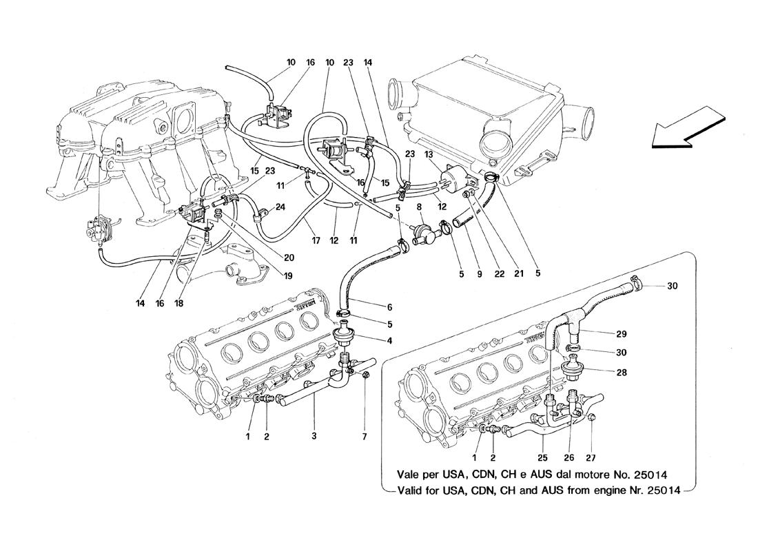 AIR INJECTION DEVICE - MOTRONIC 2.7