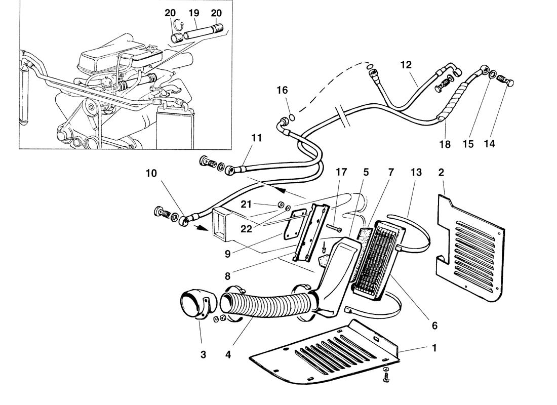 GEARBOX OIL COOLING SYSTEM