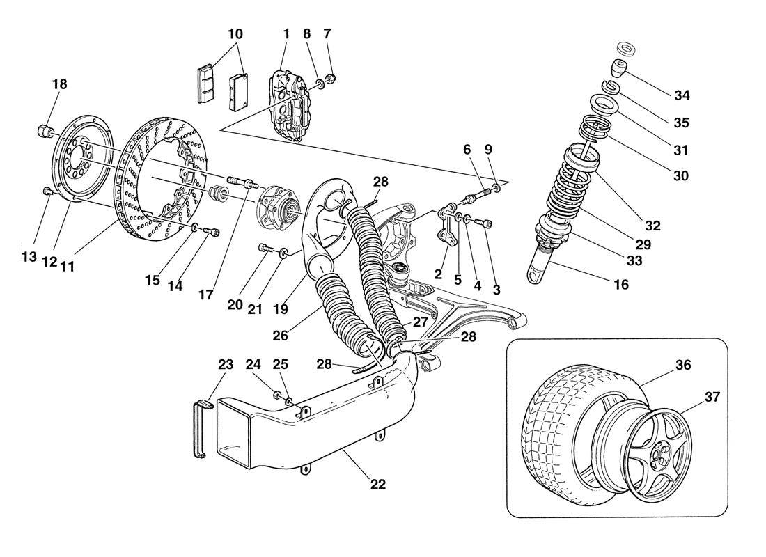 BRAKES - SHOCK-ABSORBERS - FRONT AIR INTAKES - WHEELS