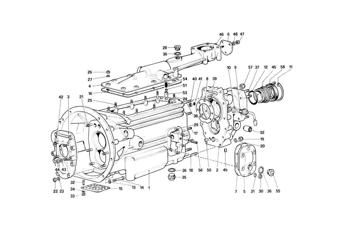 GEARBOX (400 GT)