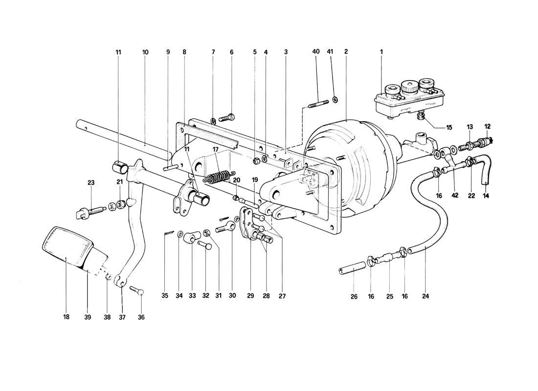 BRAKES HYDRAULIC CONTROLL (400 AUTOMATIC - FOR RHD)