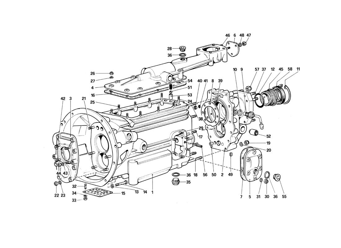 GEARBOX - 412 M.