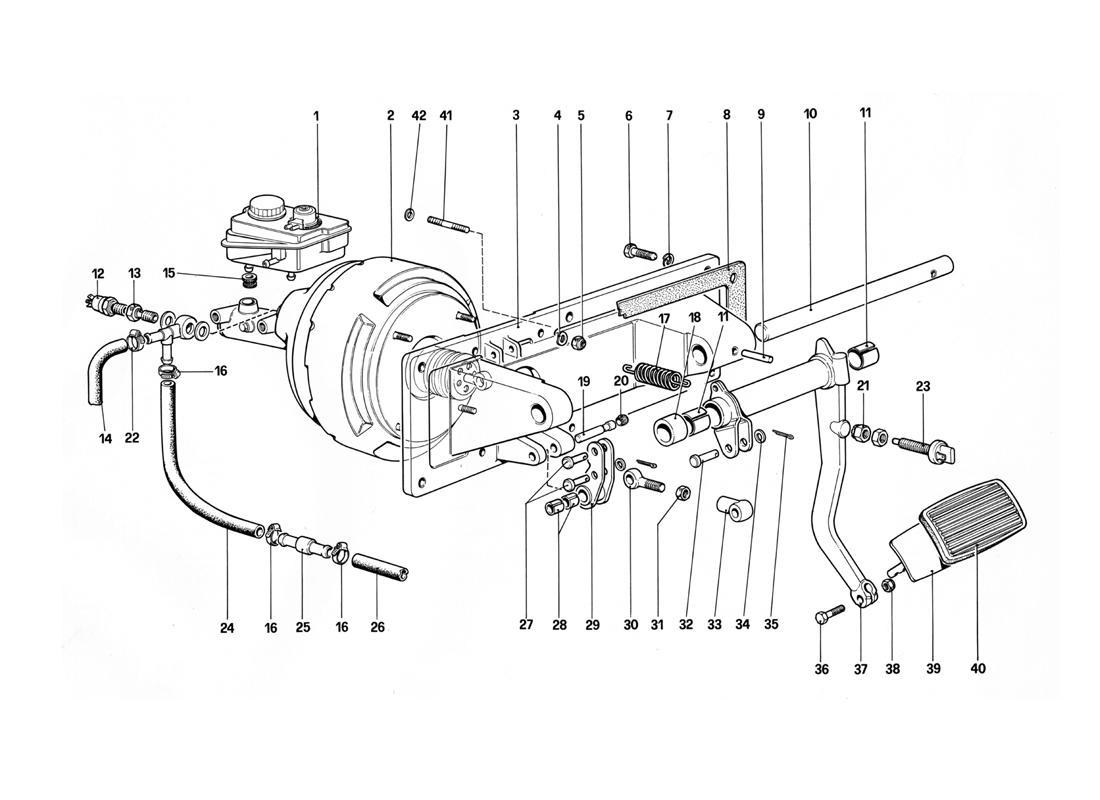 BRAKES HYDRAULIC CONTROL - 412 A. LHD