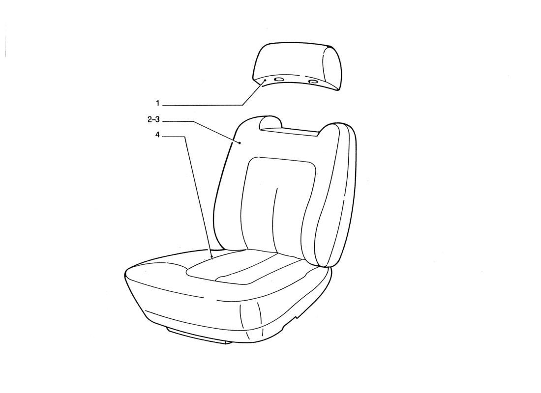 FRONT SEATS (VARIATIONS)