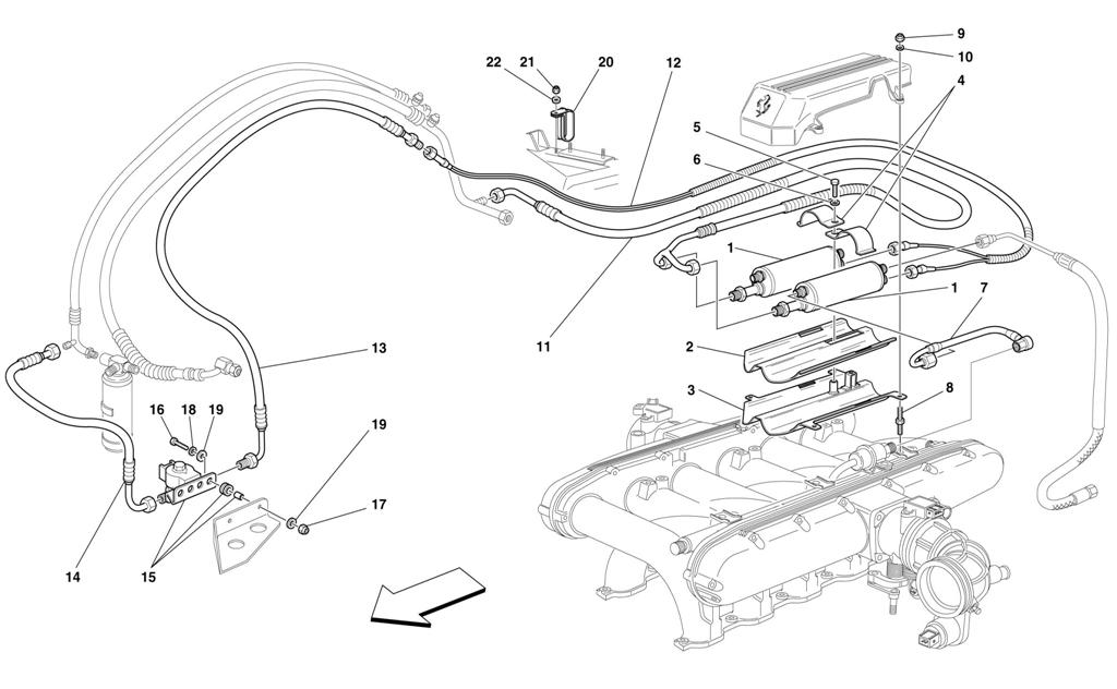 FUEL COOLING SYSTEM -VALID FOR USA M.Y. 2000 AND CDN M.Y. 2000-
