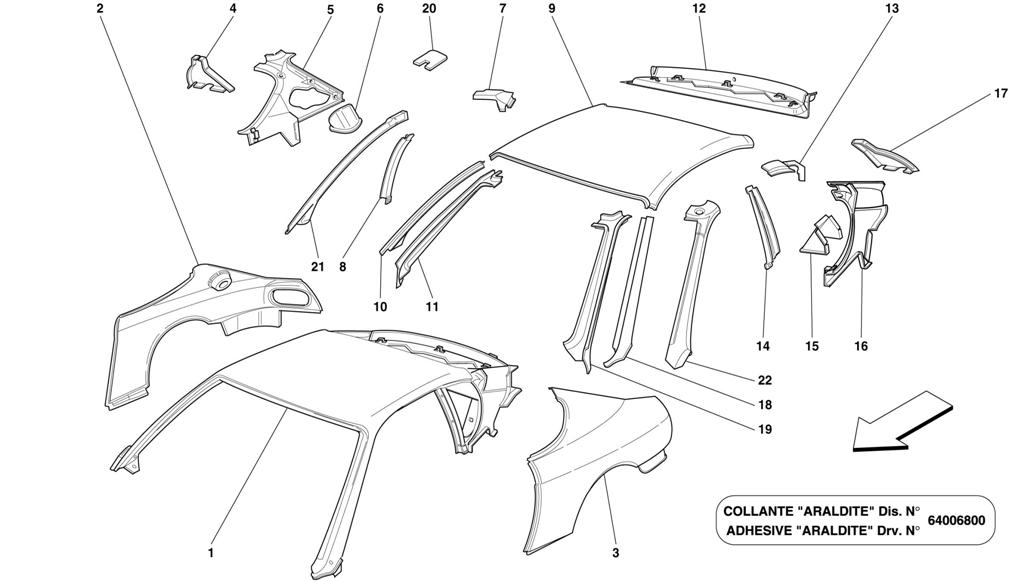 ROOF PANEL STRUCTURES AND COMPONENTS