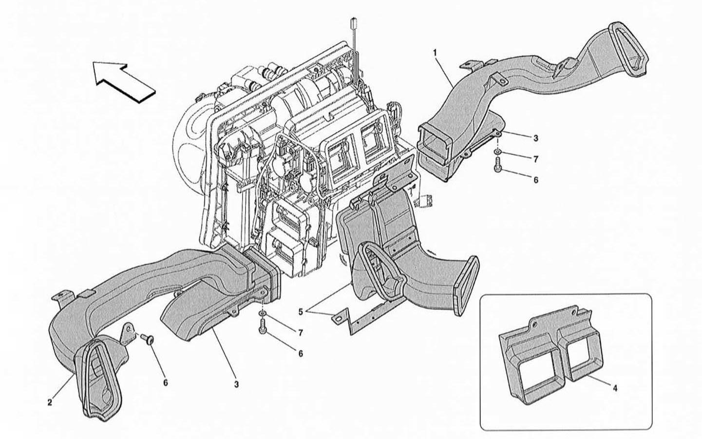 DASHBOARD AIR DUCTS