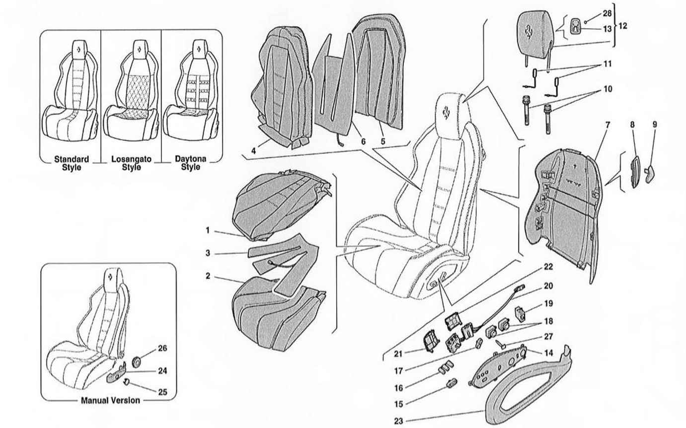 SE ATS - UPHOLSTERY AND ACCESSORIES
