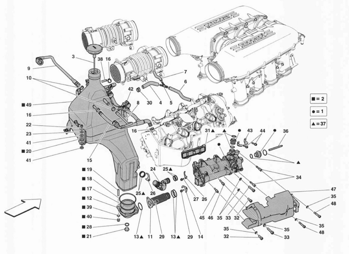 OIL LUBRICATION SYSTEM: TANK AND PUMP