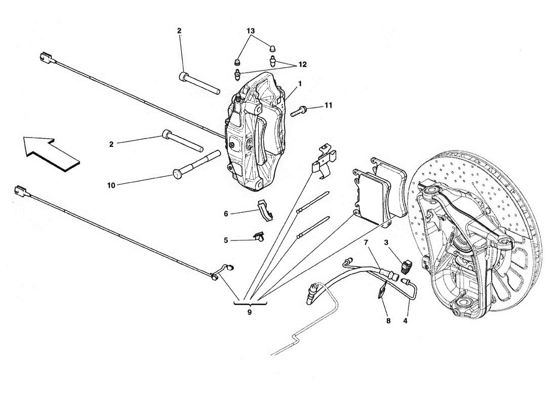 FRONT BRAKE CALLIPERS