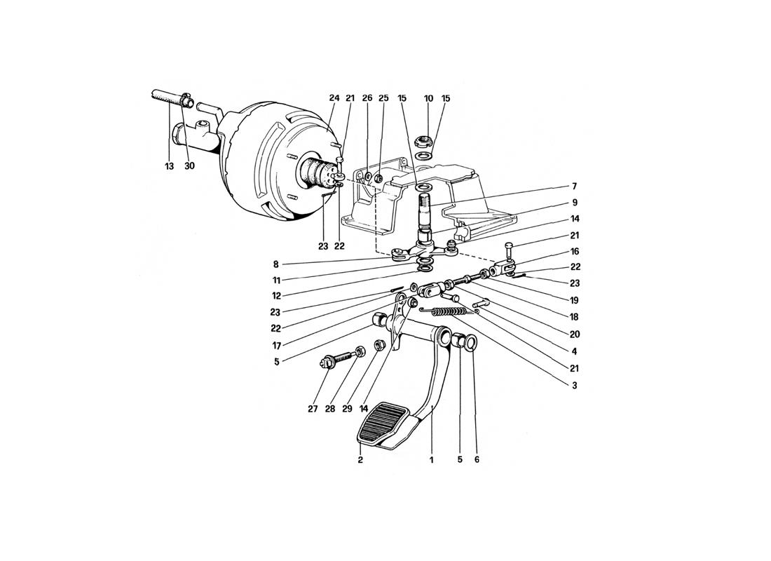 BRAKE HYDRAULIC SYSTEM (FOR RHD VERSION)
