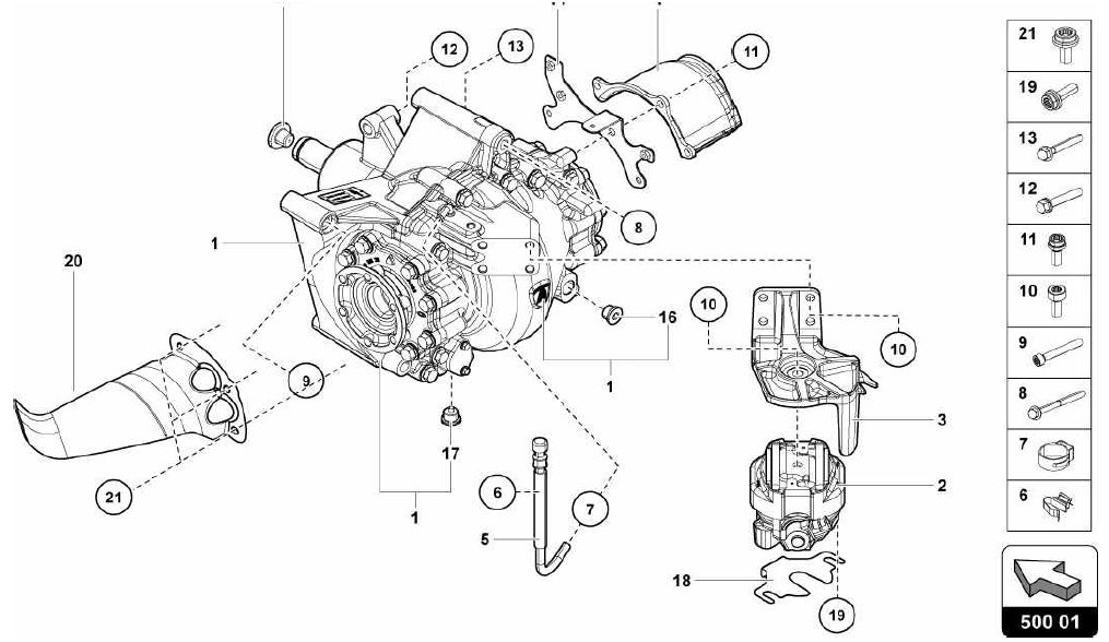 500.01.00-REAR DIFFERENTIAL