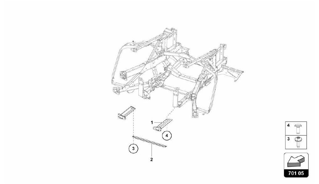701.05.00-REAR FRAME ELEMENTS
