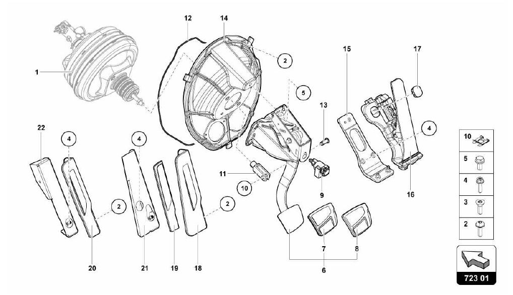 723.01.00-PEDALBOX ASSEMBLY