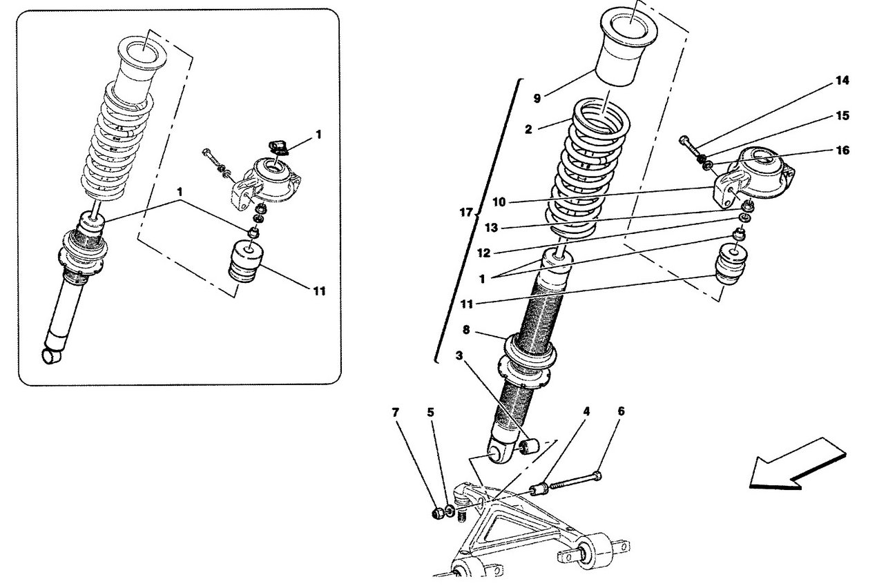 FRONT SHOCK ABSORBER DEVICES