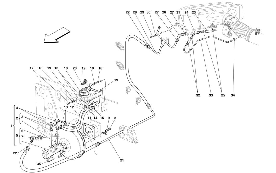 BRAKES HYDRAULIC CONTROLS AND BRAKE BOOSTER SYSTEM