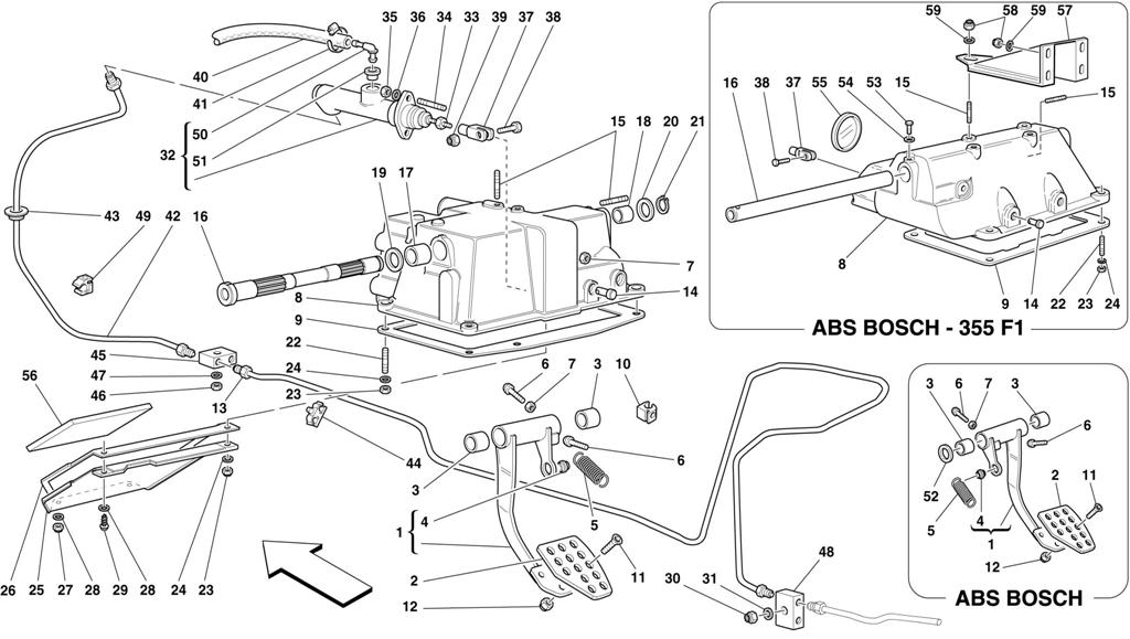 CLUTCH RELEASE CONTROL AND PEDAL SUPPORT -NOT FOR RHD