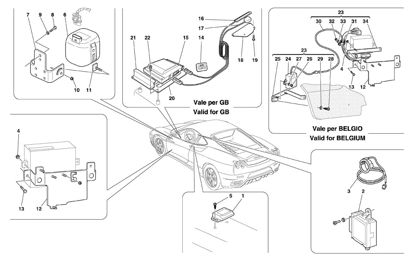 ANTI-THEFT ELECTRICAL BOARDS AND DEVICE