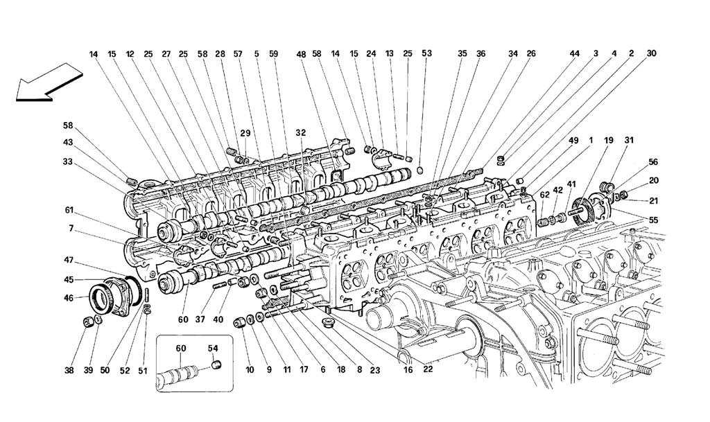 RIGHT CYLINDER HEAD