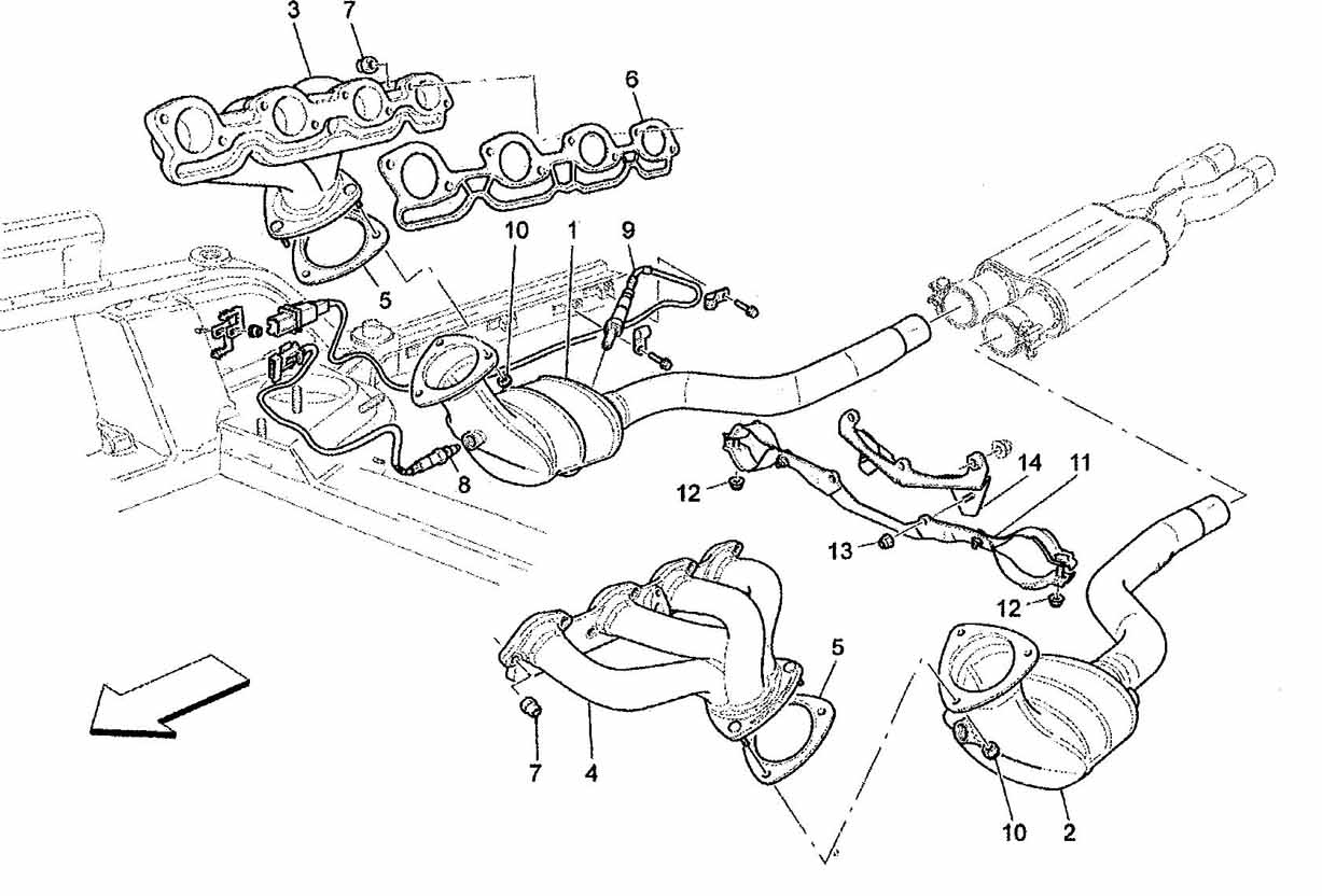 EXHAUST SYSTEM – CATALYTIC CONVERTERS