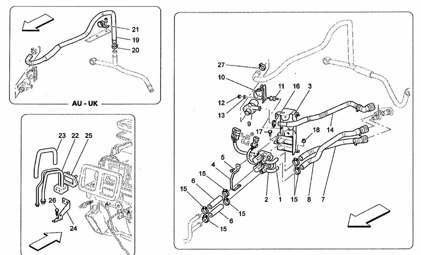 A/C – ENGINE COMPARTMENT DEVICES -2