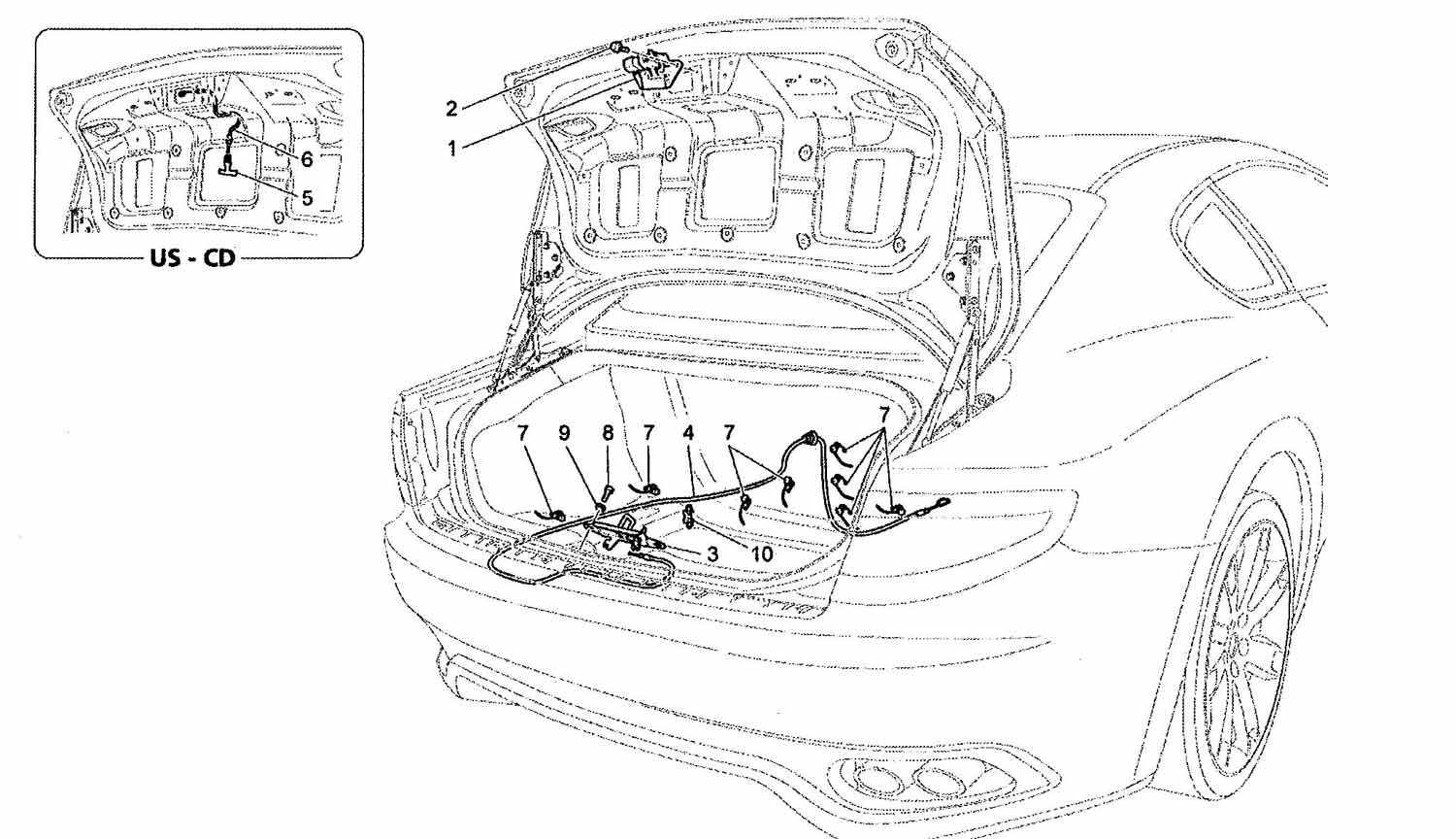 TRUNK OPENING SYSTEM