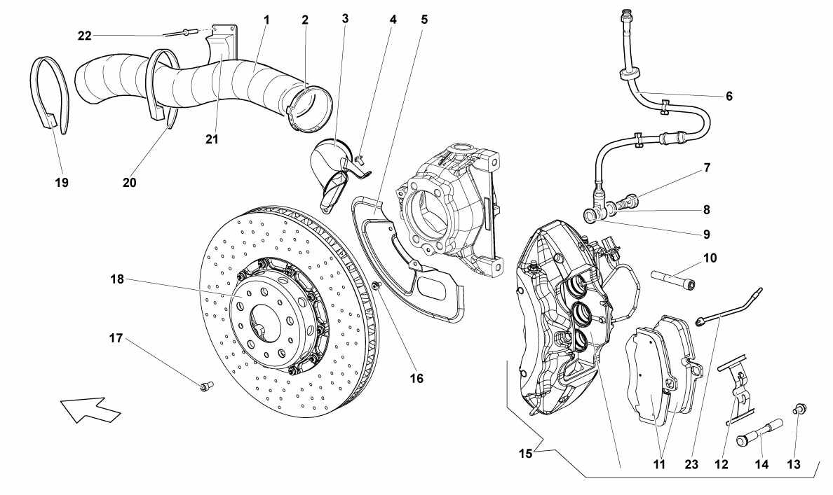FRONT BRAKES - CARBOCERAMIC