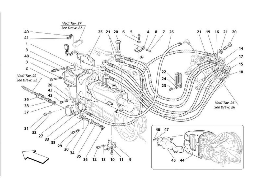 F1 CLUTCH HYDRAULIC CONTROLS