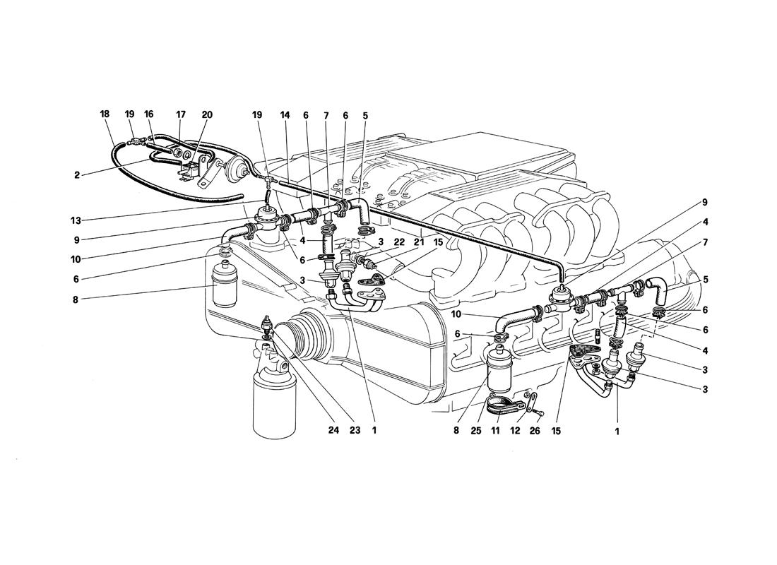 AIR INJECTION AND LINES (FOR CH AND SA)