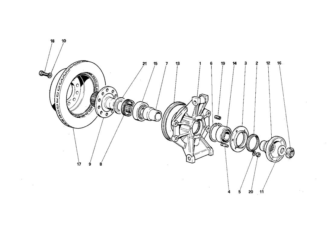 REAR SUSPENSION - BRAKE DISC