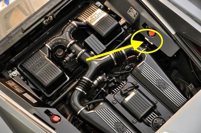 F355 Assembly Number Location