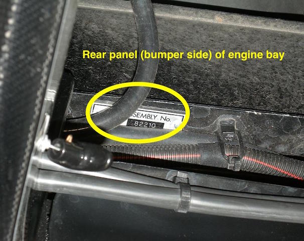 F430 Assembly Number