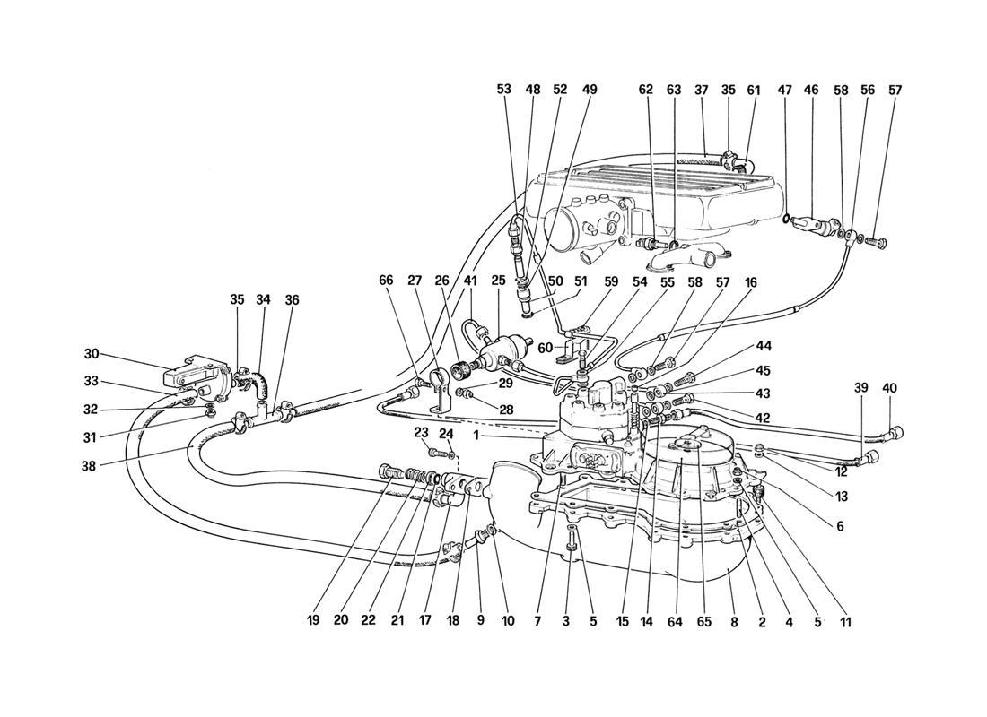 FUEL DISTRIBUTORS LINES (FOR CH88 VERSION)