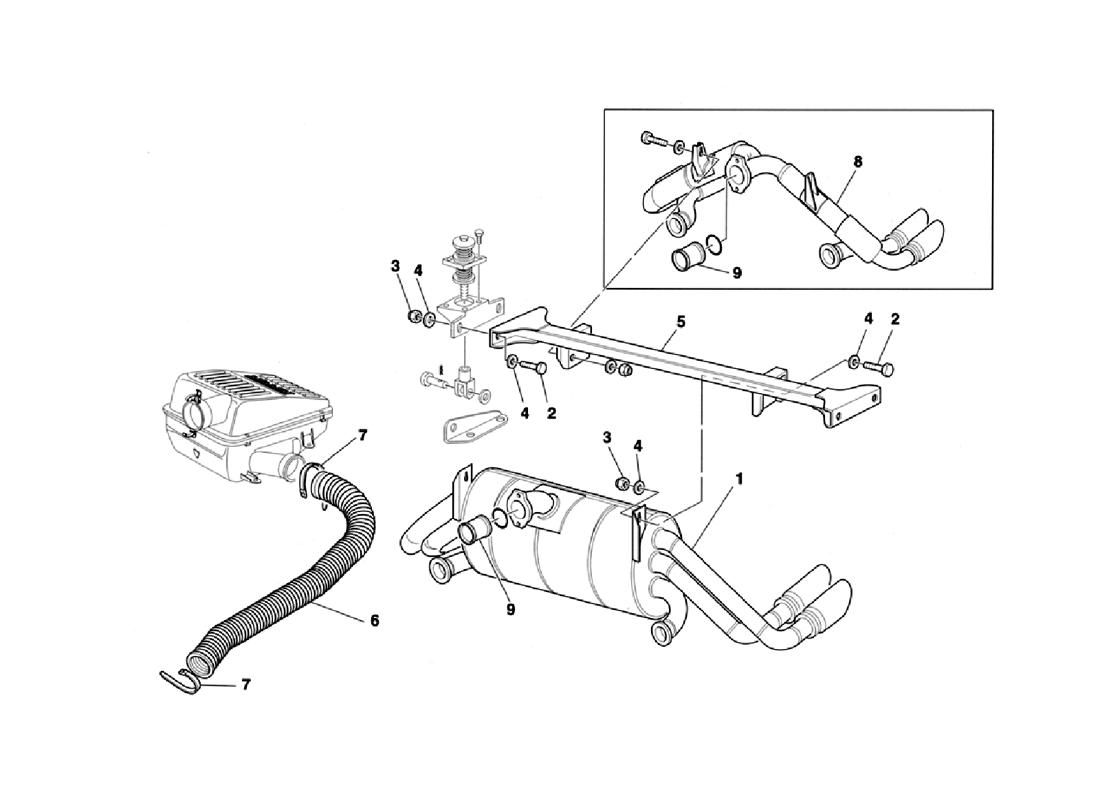 EXHAUST SYSTEM - AIR INTAKE