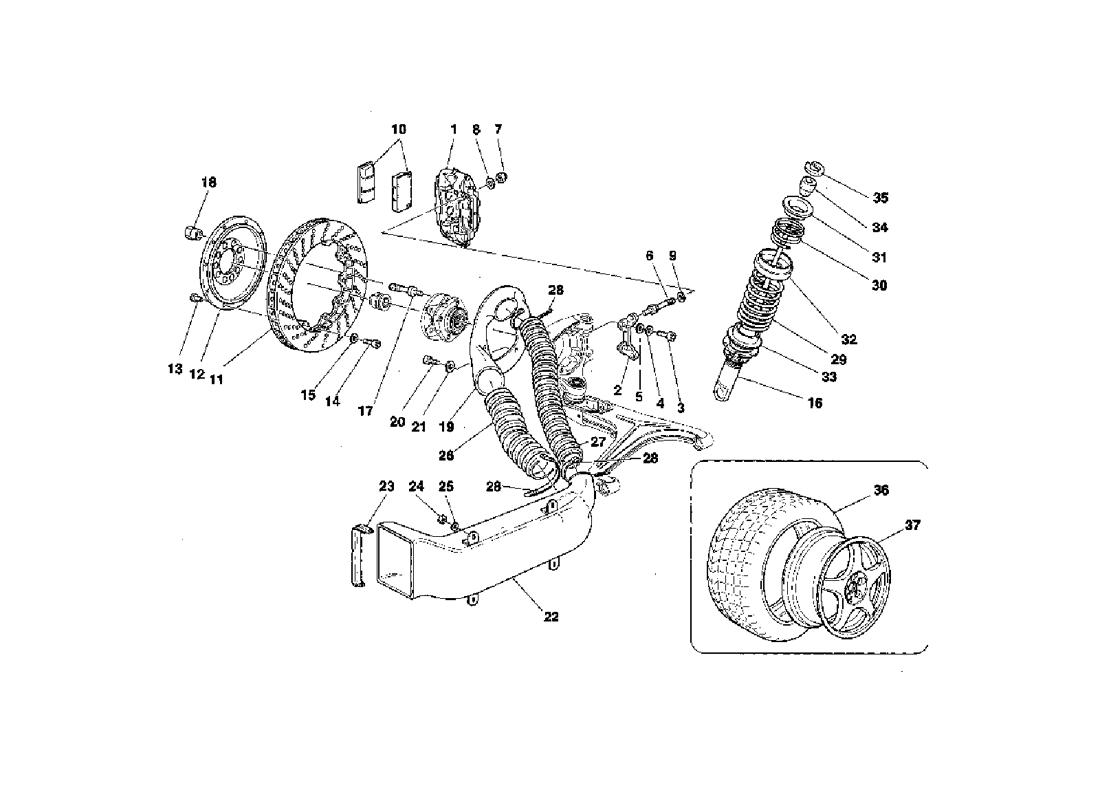 BRAKES - SHOCK ABSORBERS - FRONT AIR INTAKE - WHEELS