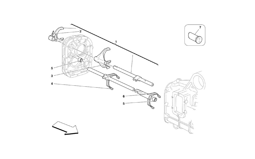 INSIDE GEARBOX CONTROLS