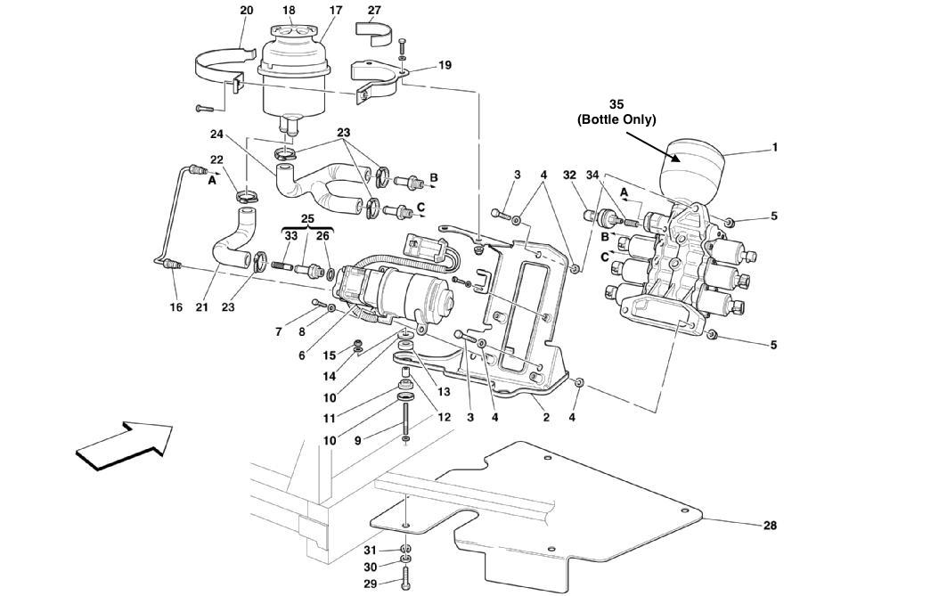 POWER UNIT AND TANK -VALID FOR F1-