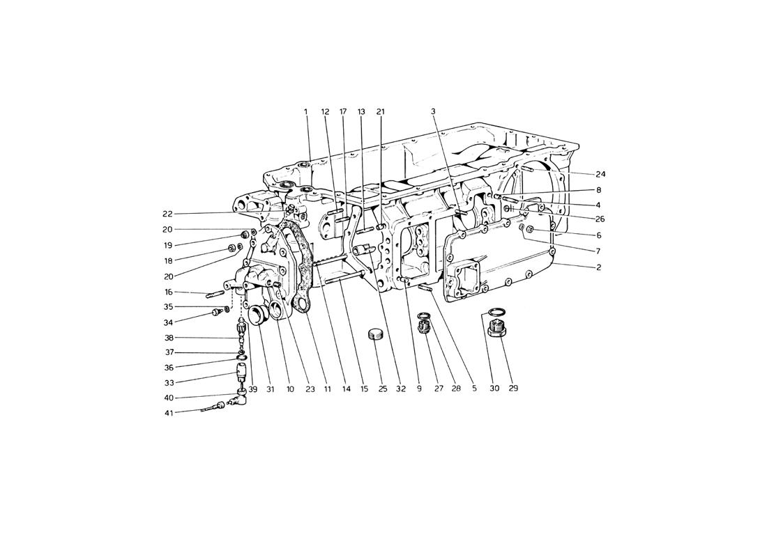 GEARBOX (UP TO CAR NO. 17535)
