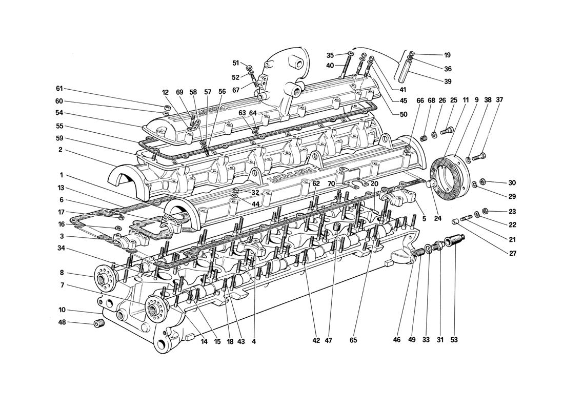 CYLINDER HEAD (RIGHT)