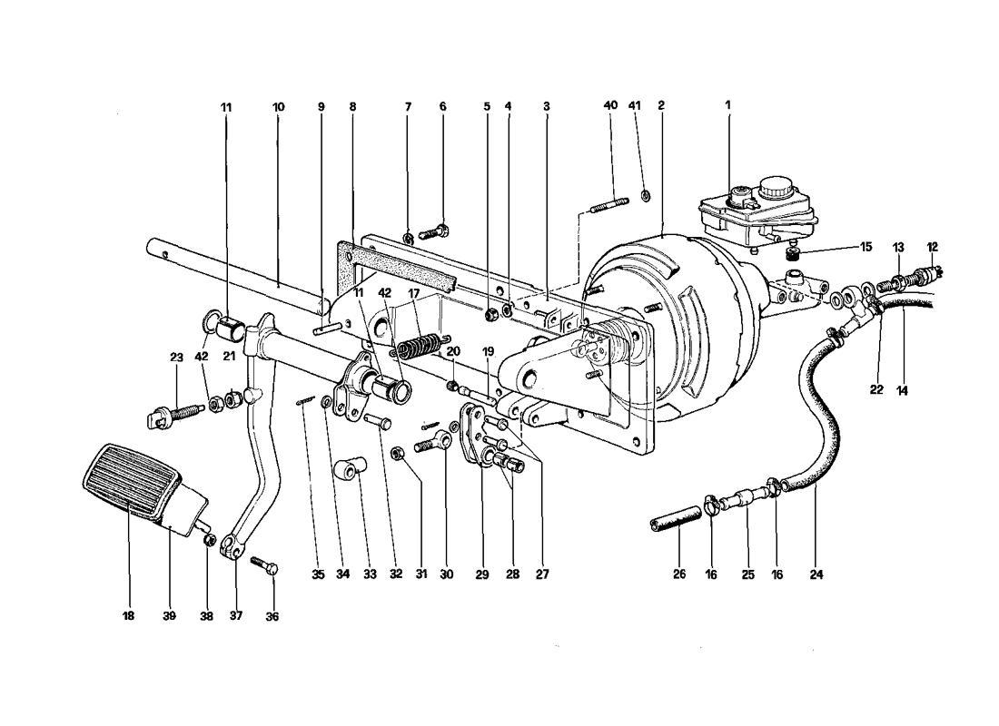 BRAKES HYDRAULIC CONTROL - 412 A. RHD