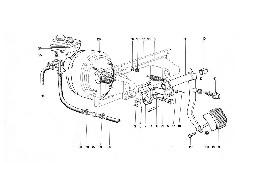 BRAKES HYDRAULIC CONTROL - 412 M. LHD