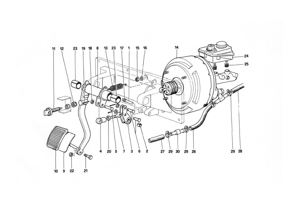 BRAKES HYDRAULIC CONTROL - 412 M. RHD