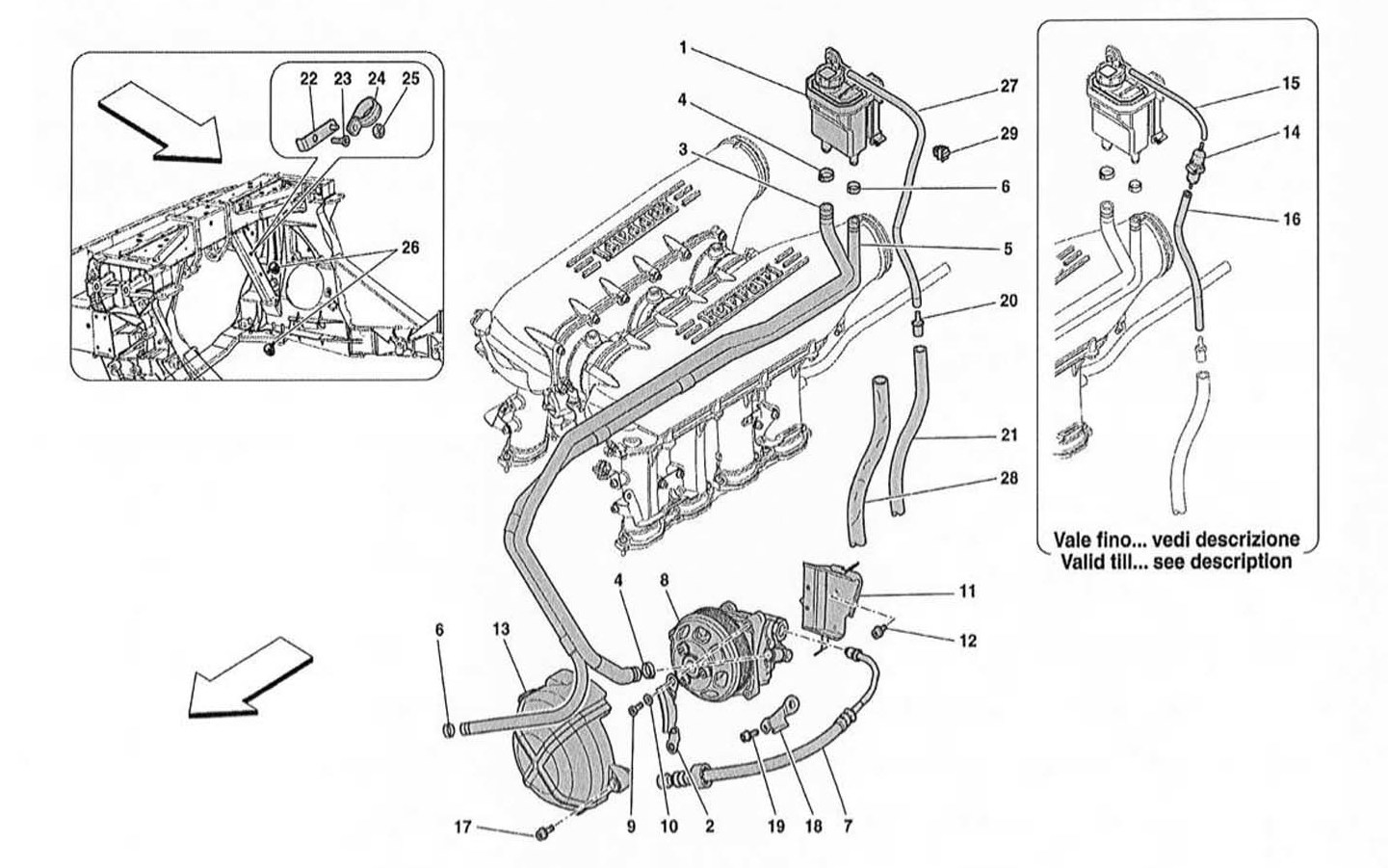 HYDRAULIC STEERING PUMP AND TANK