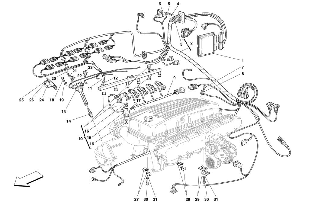 INJECTION - IGNITION DEVICE