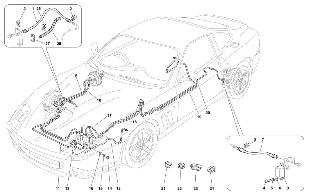 BRAKE SYSTEM -VALID FOR RHD